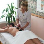 Photo massage pierres